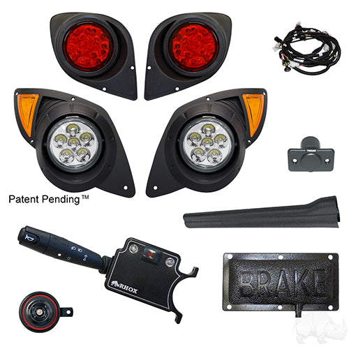 Build Your Own LED Factory Light Kit, Yamaha Drive 07-16 (Deluxe, Pedal Mount)