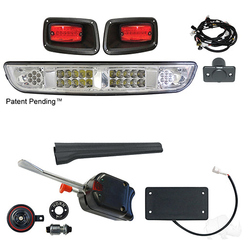 Build Your Own Light Bar Kit, LED, E-Z-Go TXT 94+