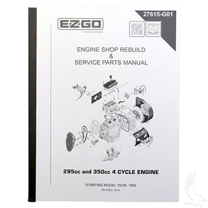 Maintenance Manual, E-Z-Go 4-cycle Engine