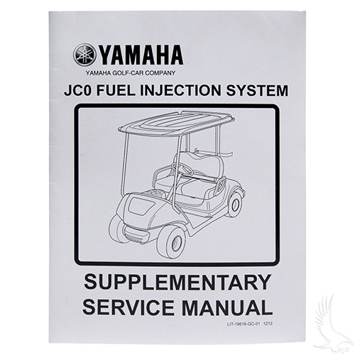 Service Manuel, Yamaha Drive & Drive2, Fuel Injection System