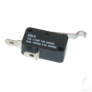 Micro Switch, 2 terminal, Club Car DS Gas 84+, Electric 80+ 36V