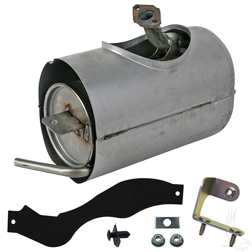 Replacement Muffler, Yamaha Drive 07-16