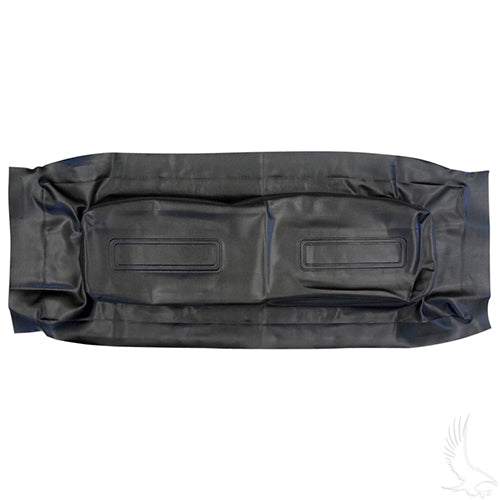 Seat Back Cover, Black, Club Car Trans/Utility
