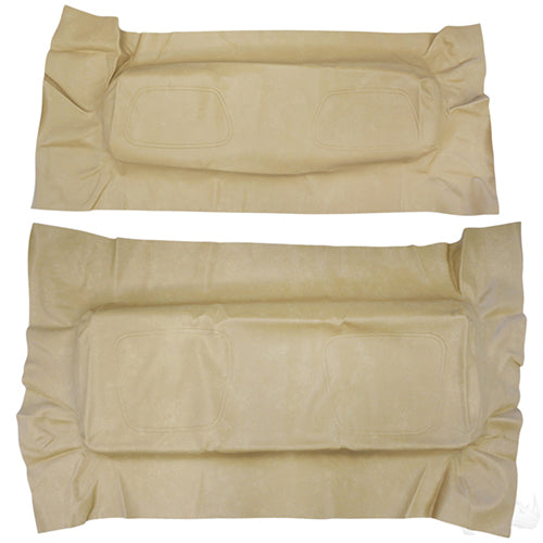 Cover Set, RHOX Rhino Seat Tan, Club Car DS