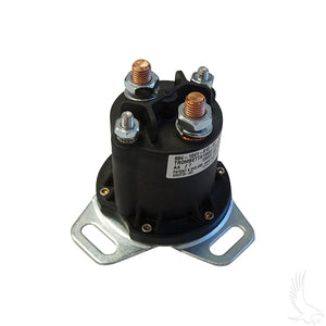 Solenoid, 12V 4 Terminal Copper, Club Car Gas 84+ (Different Footprint)
