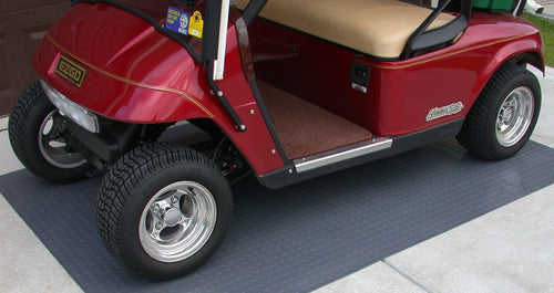 Garage Floor Golf Car Mat