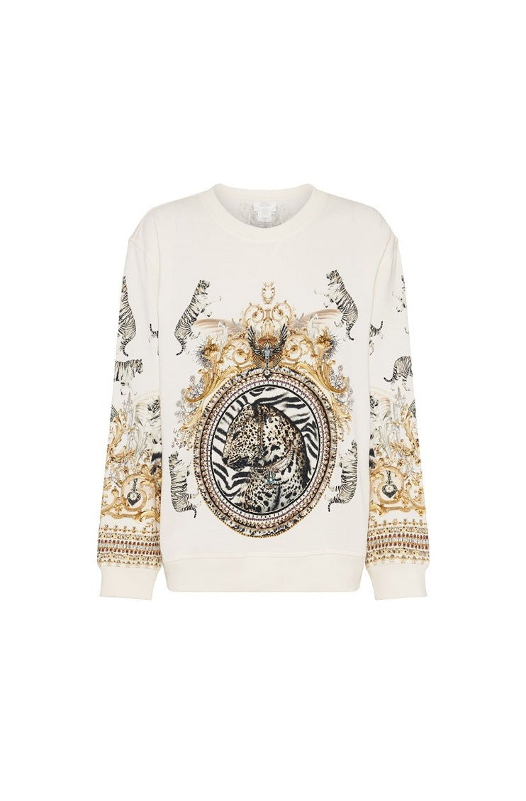 Camilla Round Neck Sweater - Gates of Glory