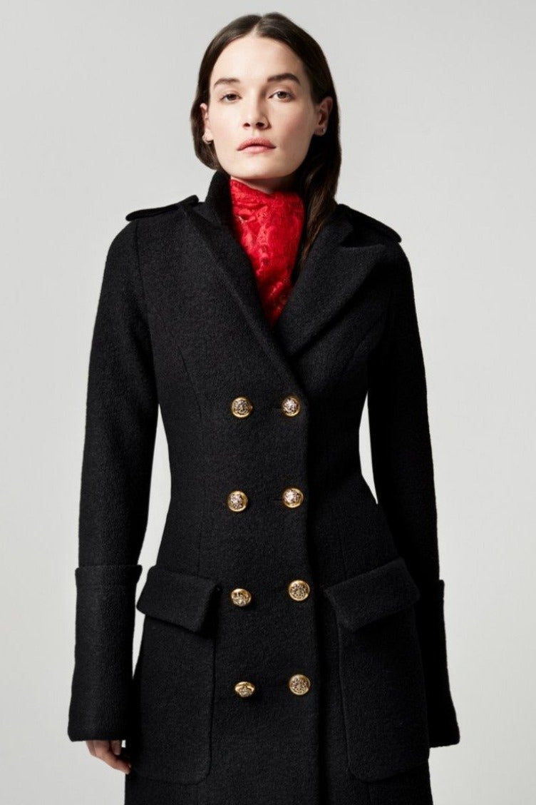 Smythe Boiled Wool Jacket