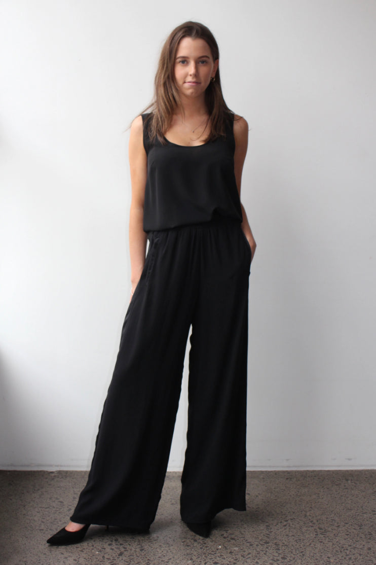 October Reign Wide Leg Trousers