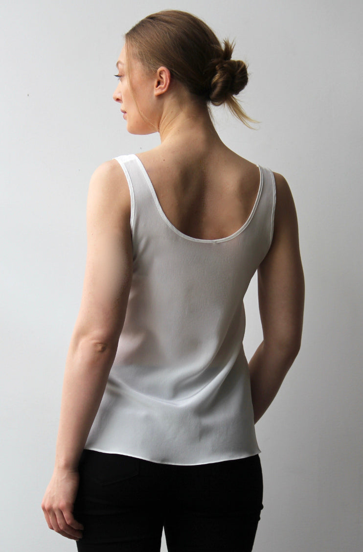 October Reign Essential Round Neck Camisole - Tusk
