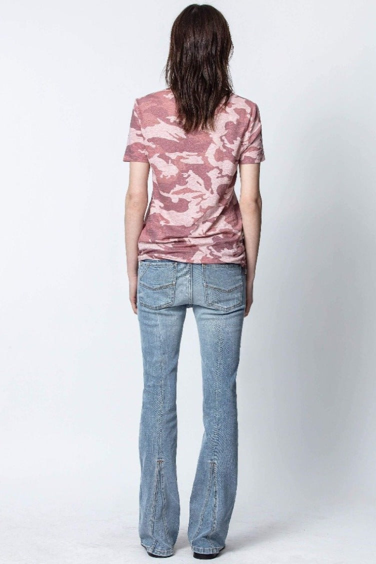 Zadig & Voltaire Awa Camo T-Shirt - Orchidee