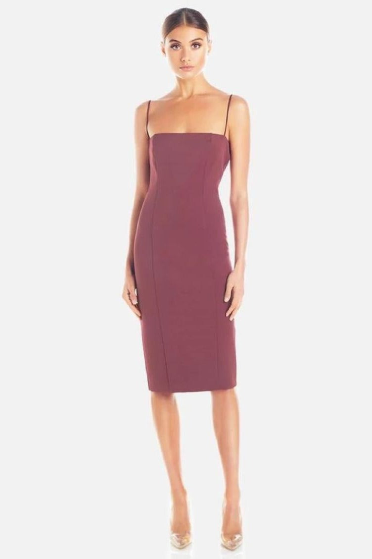 Misha Sophie Dress - Plum