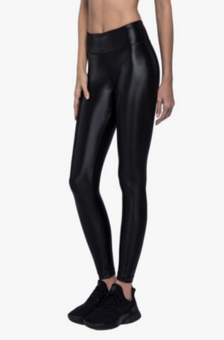 Koral Lustrous High Rise Legging - Black