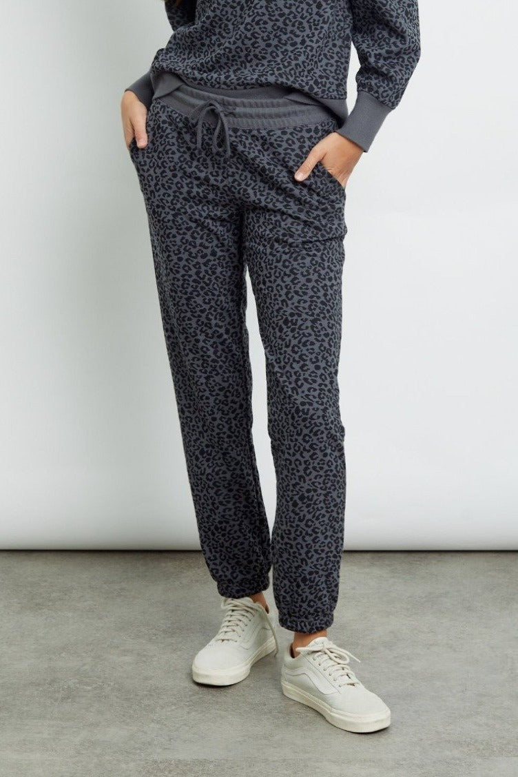 Rails Kingston Pant - Charcoal Cheetah