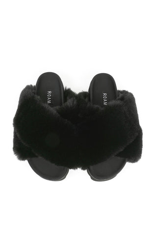 Roam Cloud Slide - Black