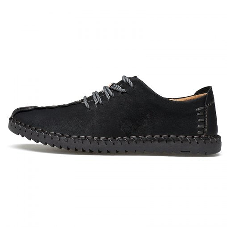 Men's British Style Lace-up Casual Shoes