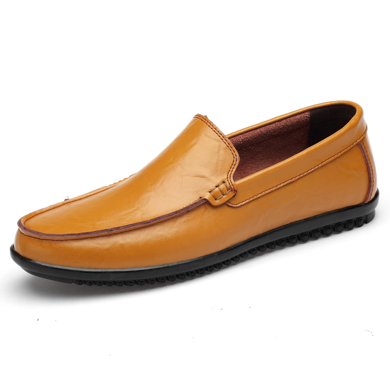 Quality Stitched Leather Casual Shoes
