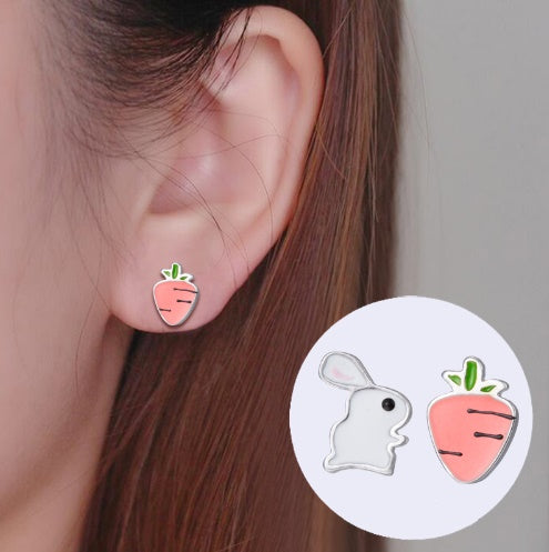 Bunny & Carrot Earrings * You will LOVE it! *