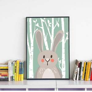 Bunny & Friends Canvas
