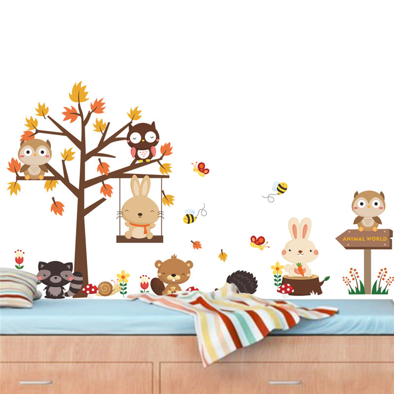 Forest Bunny Wall Sticker [Best selling]