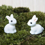 10 Pcs of Mini Rabbit Figurine