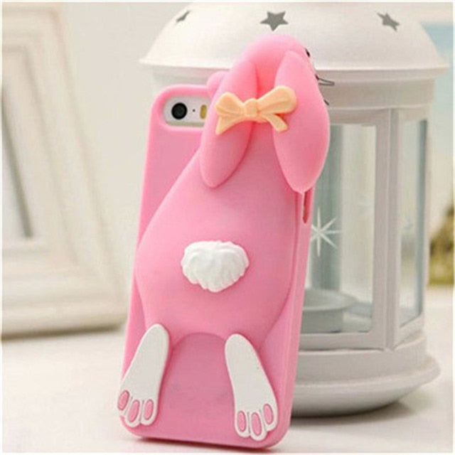 3D iPhone Bunny Case