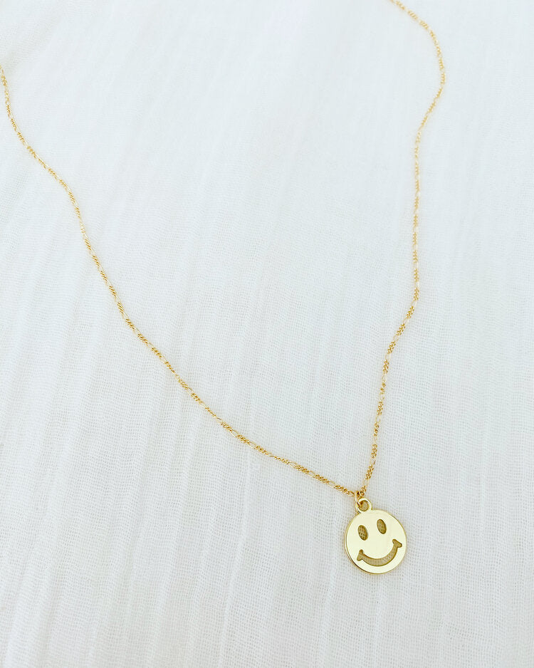 ALV Smiley Figaro Necklace