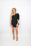 One Shoulder Layer Romper