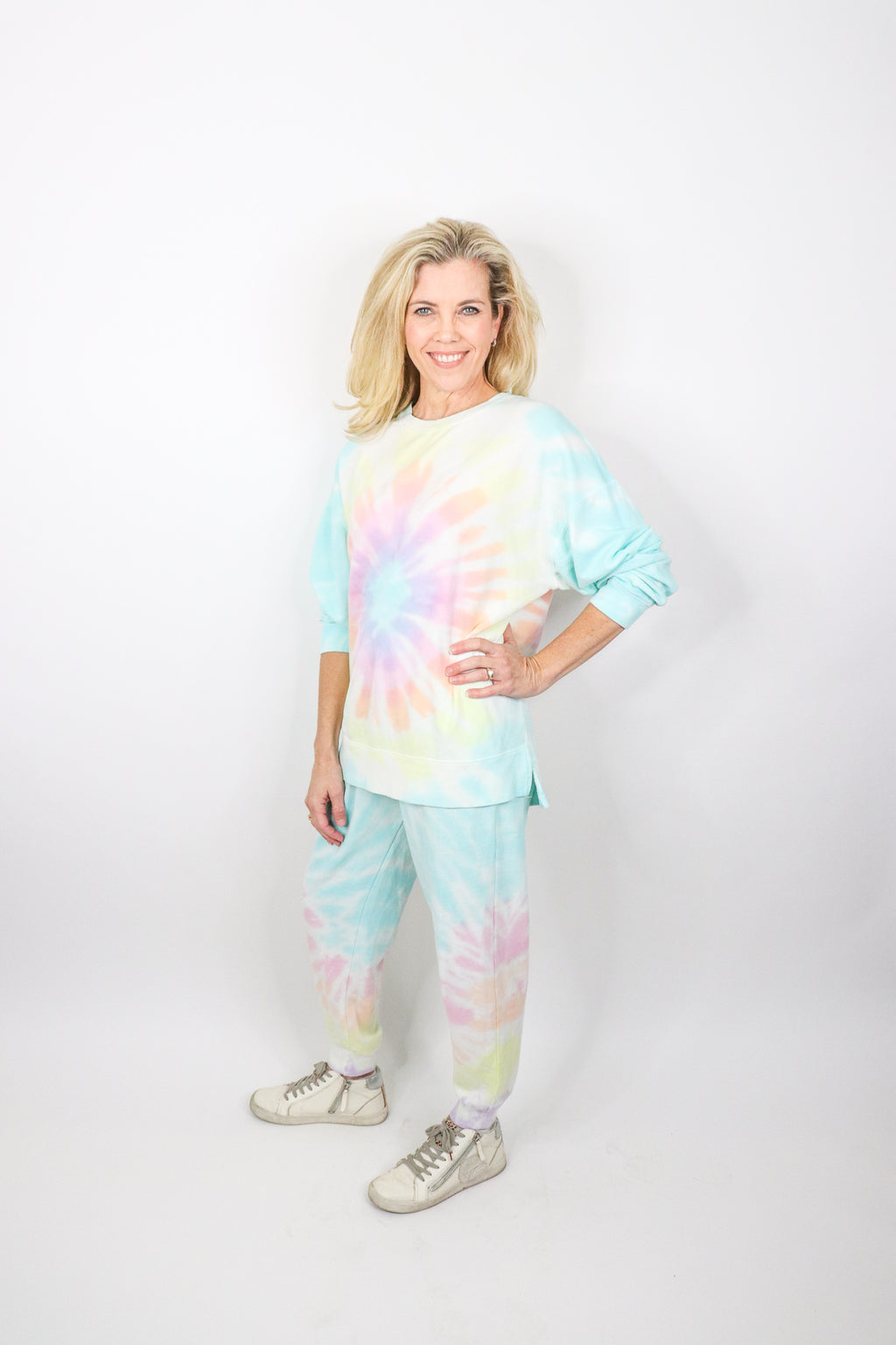 Bright Tie-dye Pants