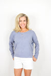 Cropped Pullover With Seam