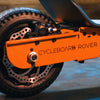 CycleBoard Rover Orange Back wheel