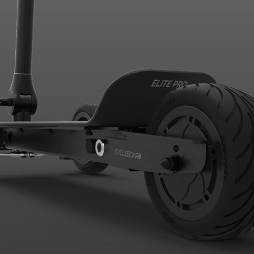 CycleBoard Elite Pro Stealth Back Wheel