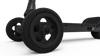 CycleBoard Elite Pro Matte Black Stealth Front Wheel