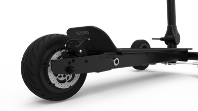 CycleBoard Elite Pro Matte Black Stealth Rear Suspension