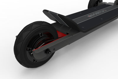 CycleBoard Sport Carbon Grey Back Wheel