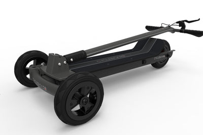 CycleBoard Sport Carbon Grey Folded