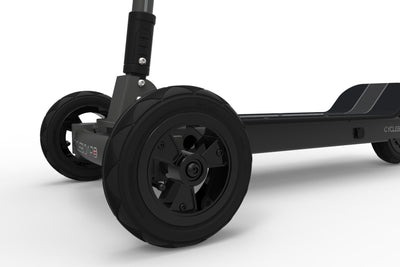 CycleBoard Sport Carbon Grey Front Wheel