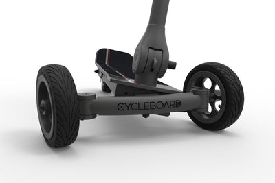 CycleBoard Elite Front Lean to Steer
