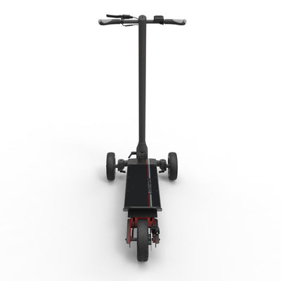 CycleBoard Elite Carbon Grey Red Back
