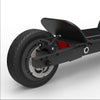 CycleBoard Elite Carbon Grey Red Back Wheel suspension Brake