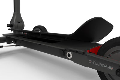 CycleBoard Elite Deck Hinge changeable battery access