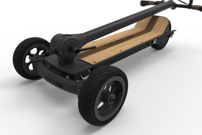 CycleBoard Elite Phantom Black Woody Fold