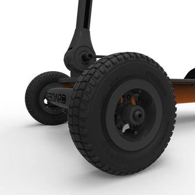 CycleBoard Rover Gunmetal Grey Burnt Orange Off Road All-Terrain Tyres