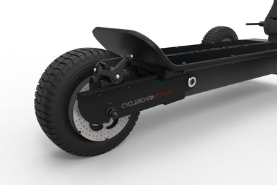 CycleBoard Rover Carbon Grey Back Suspension
