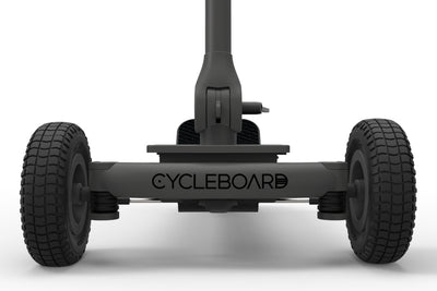 CycleBoard Rover Carbon Grey Front