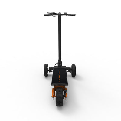 CycleBoard Rover Gunmetal Grey Burnt Orange Back