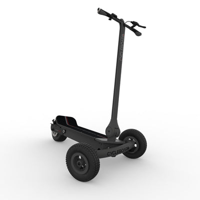 CycleBoard Rover Carbon Grey Lean to Steer