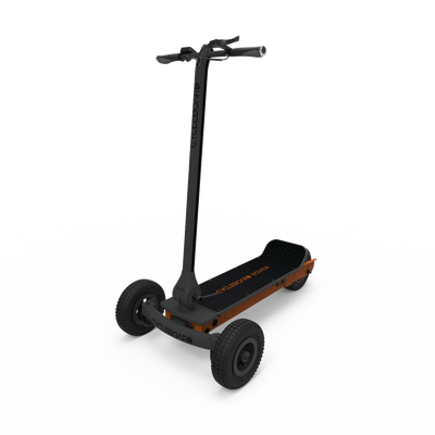 CycleBoard Rover Gunmetal Grey Burnt Orange
