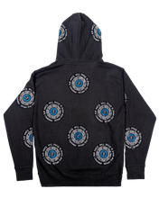 Load image into Gallery viewer, All-Over Rhinestone Hoodie