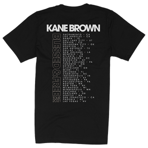 Blessed & Free Tour Tee